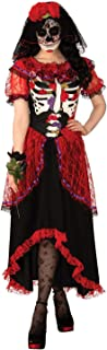 Rubies Day of The Dead Woman Adult Skeleton Costume