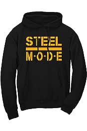 Xtreme Apparrel Steel City Pittsburgh Home Map Sweatshirt Hoodie