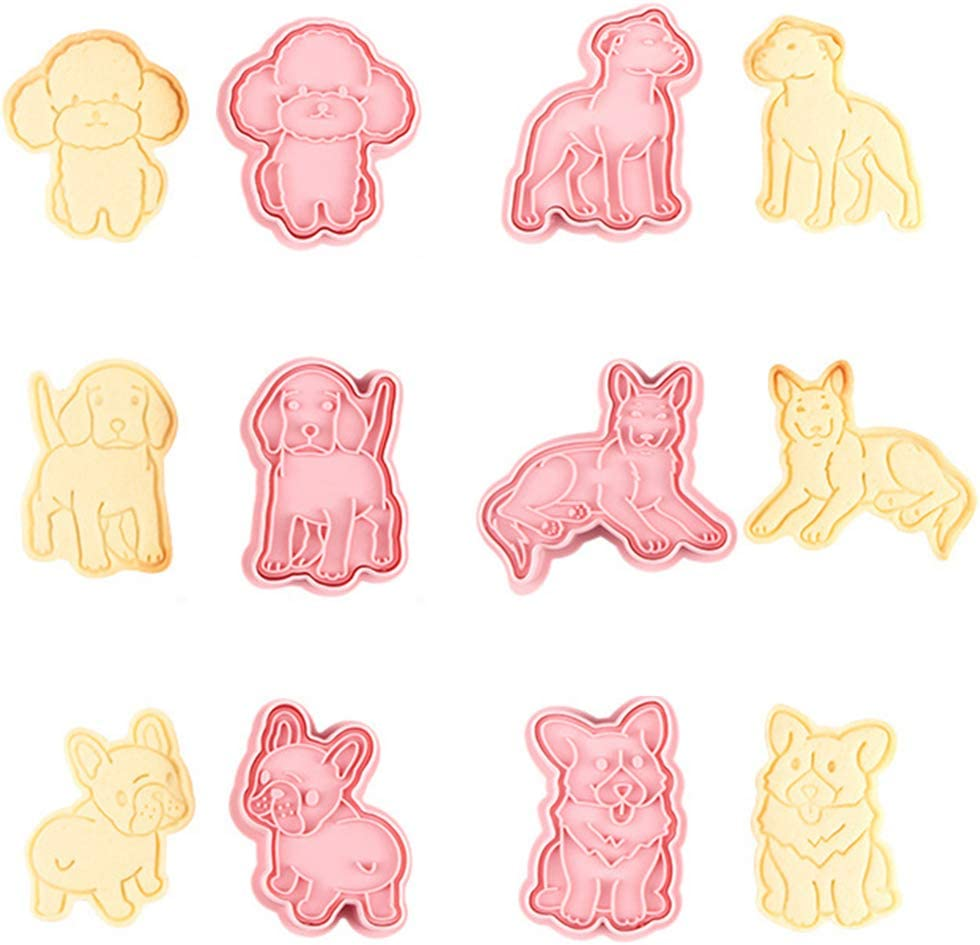 Dsxnklnd Dog Cookie Limited time cheap sale Cutter 6 for Style Today's only Baking Cutters