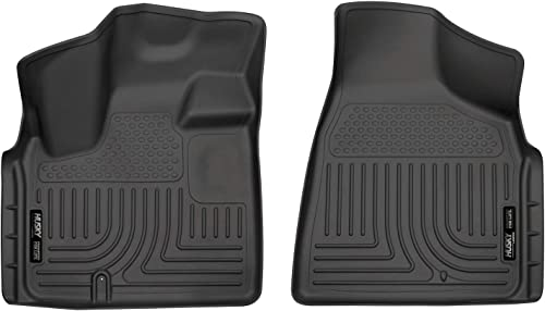 discount Husky Liners 18091 Fits 2008-16 Chrysler Town & Country, 2008-20 Dodge Grand Caravan Weatherbeater Front high quality Floor online Mats, Black outlet sale