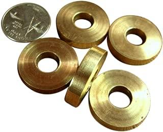 JWL (5) Solid Brass Cane Brake Washers 1