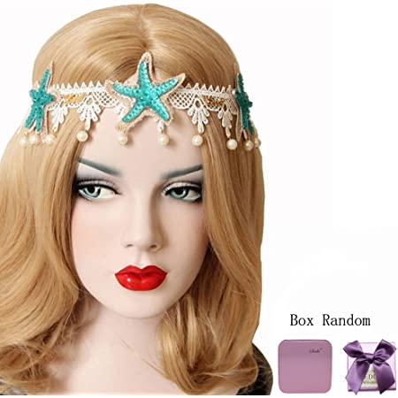 Fashion Women Girl Acrylic Bead Hair Band Ring Hairband Elastic Rope Accessories