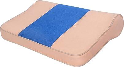 CLASORA RegularShaped Contoured Cervical Orthopedic Pillow (Brown,Blue)