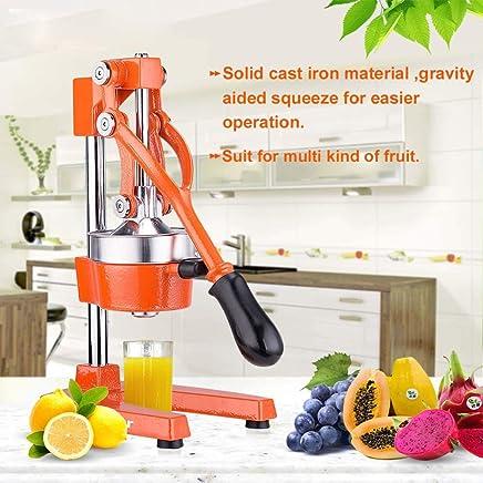Commercial Citrus Press Fruit Squeezer Press Juicer Manual for Orange Lemon Pomegranate Juicing -Extracts Maximum
