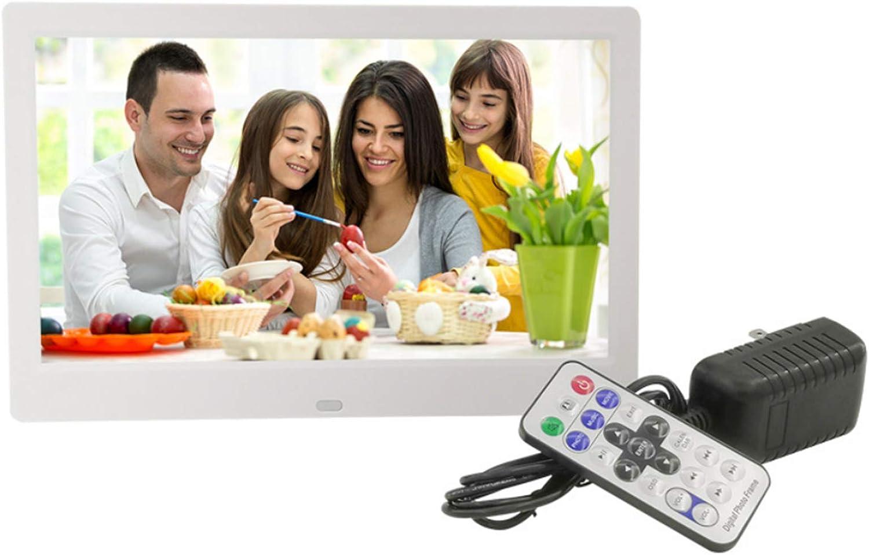 Mult-Media-Player High Definition LCD-Display 1024 x 600 Musik Filme digitaler Bilderrahmen PTMD 10 Zoll Elektronisches Album f/ür Bilder