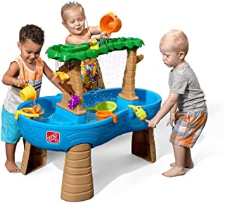 Step2 Tropical Rainforest Water Table | Colorful Kids Water Play Table with 13-Pc..