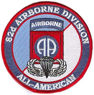 82nd Airborne Division Patch with Wings