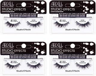 Ardell Studio Effects Demi Wispies Black, 4 Pack