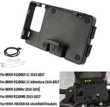 USB Charging Mobile Phone Navigation Bracket Holder Black Motorcycle For BMW R1200GS ADV Original For GARMIN Navigator Base BMW S1000XR 2014 2015 2016 2017