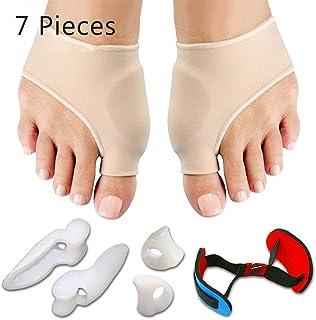 comprar comparacion Corrector de juanete y alivio de juanete Protector mangas Kit - tratamiento de dolor en hallux valgus, adapta para la corr...