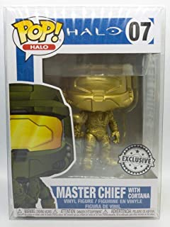 Funko POP! Games: Halo - Master Chief with Cortana (Gold)