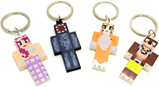 EnderToys Keychain Bundle Set, 4 Pieces, Magic Animal Club Series
