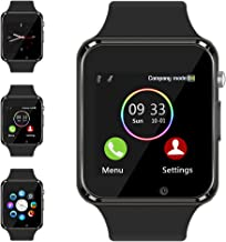 Smart Watch Compatible Samsung Android iPhone iOS for Men Women Kids, Wzpiss Bluetooth..