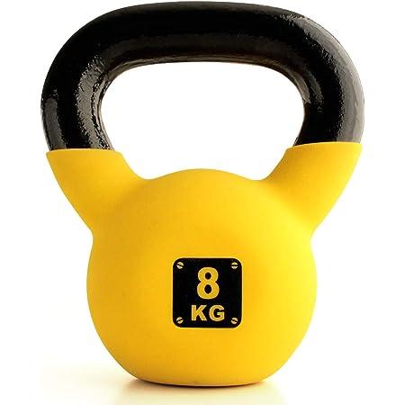 ケトルベル 4kg 6kg 8kg 10kg 12kg ソフト コーティング キャストアイアン