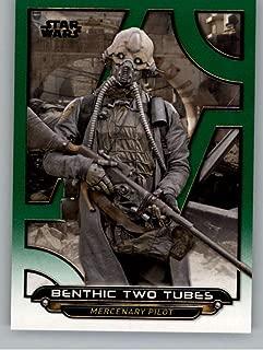 2018 Topps Star Wars Galactic Files Green #RO-18 Benthic Two Tubes SER/199