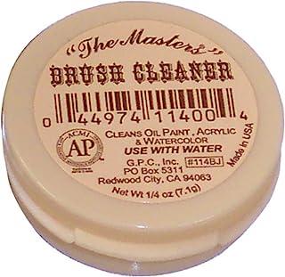 Maestros.tamaño de viaje cepillo limpiador 25 onza