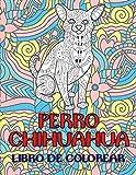 Perro chihuahua - Libro de colorear