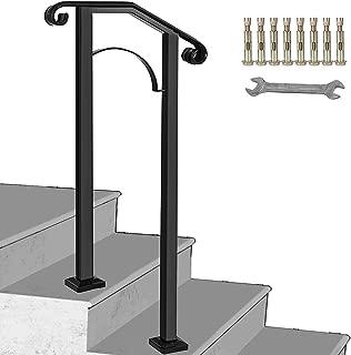 metal handrail posts