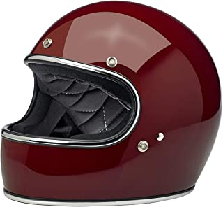 Biltwell Gringo ECE Rated Helmet Gloss Garnet Small (More Size and Color Options)