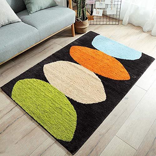 Mdurian Große Türmatten Moderne Innenausstattung Dekorieren Hauseingang Boden Teppich Einfache Design Teppich für Badezimmer Rutschfeste, 39,3 x 59 Zoll/Design # 1