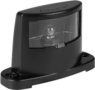 Lumitronics License Plate Lamp - ABS Body Construction (Black)