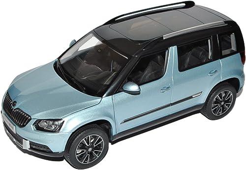 Paudi Skoda Yeti Blau Grau Ab Modell Facelift 2013 1 18 Modell Auto