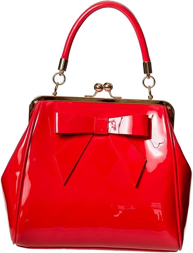 Vintage Handbags, Purses, Bags *New* Dancing Days American Vintage Rockabilly Retro 50s Top Handle Bag Handbag $29.80 AT vintagedancer.com