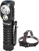 Wurkkos HD20 hoofdlamp, 2000 lumen hoofdlamp, spotlicht en schijnwerper, veelzijdig inzetbaar, EDC zaklamp met Samsung LH3...