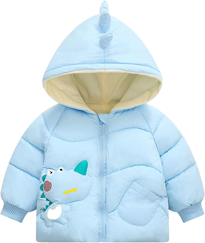 OFFicial Toddler Outlet ☆ Free Shipping Boys Girls Cartoon Dinosaur Hooded Jacket Print Lightwei