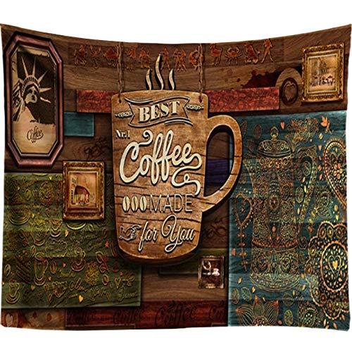 AdoDecor Tapiz de Madera Mandala Colgante de Pared Decoración de café Decoración nórdica para el hogar Boho Arte de Pared Hippie Tapiz de Pared Barato Toalla 40x60 Pulgadas