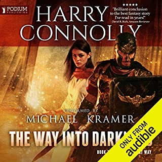 The Way into Darkness audiobook cover art