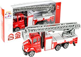 Wenasi Fire Truck Kids Toy with Extending Ladder 1:64 Scale Great Gift Toys for Kids
