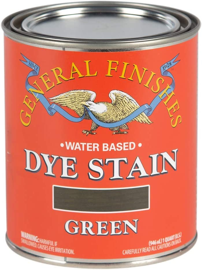 General Finishes Water Based Quart 1 Now on sale Green Dye Free Shipping New