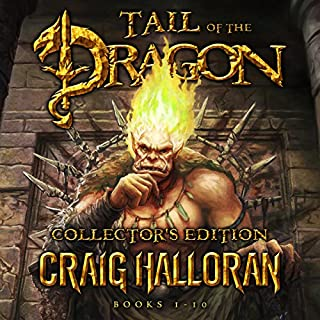 Tail of the Dragon Collector's Edition, Complete Series, Books 1-10 cover art