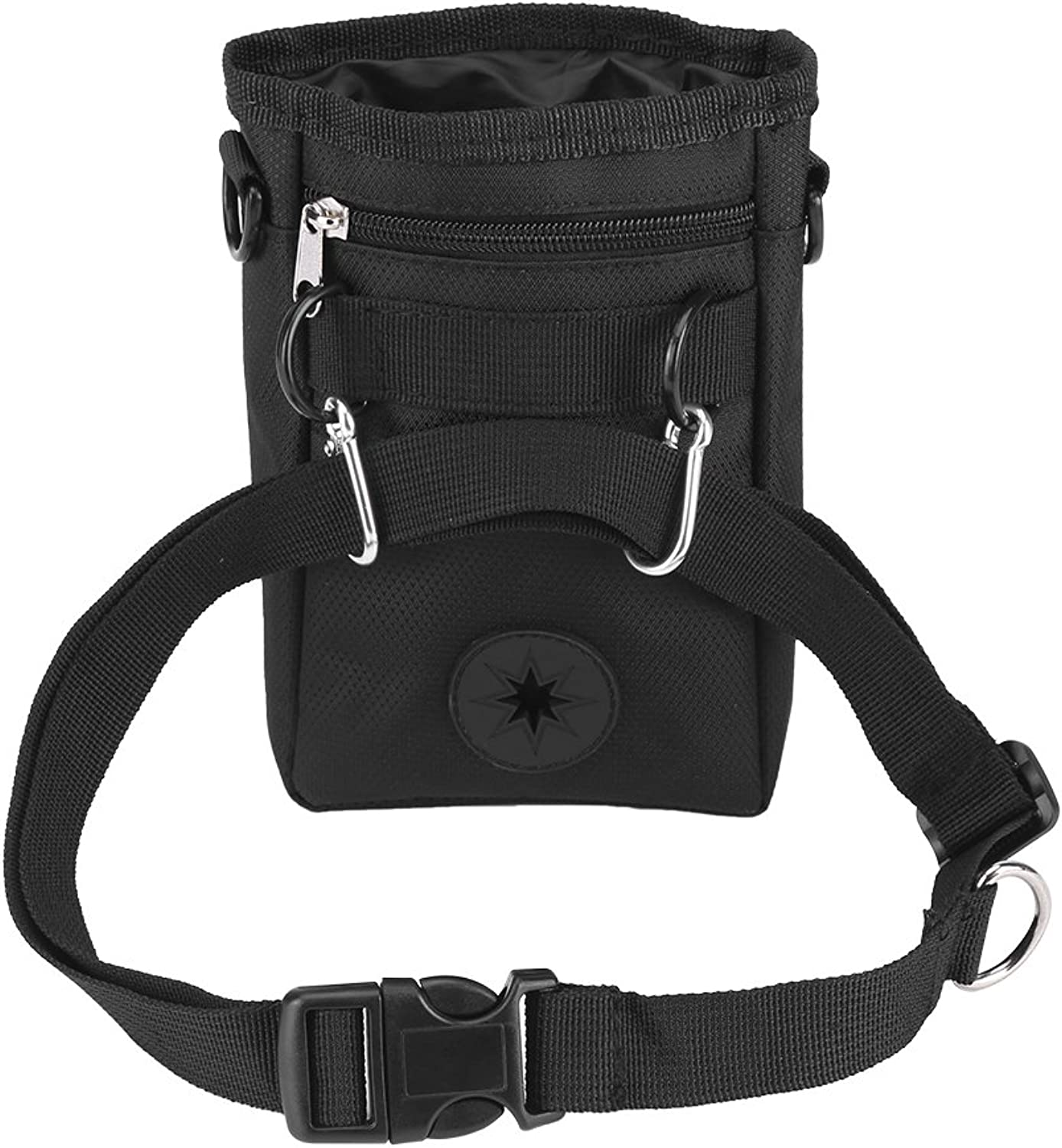 Dog Treat Bag Training Pouch with Adjustable Strap for Outdoor Travel Use