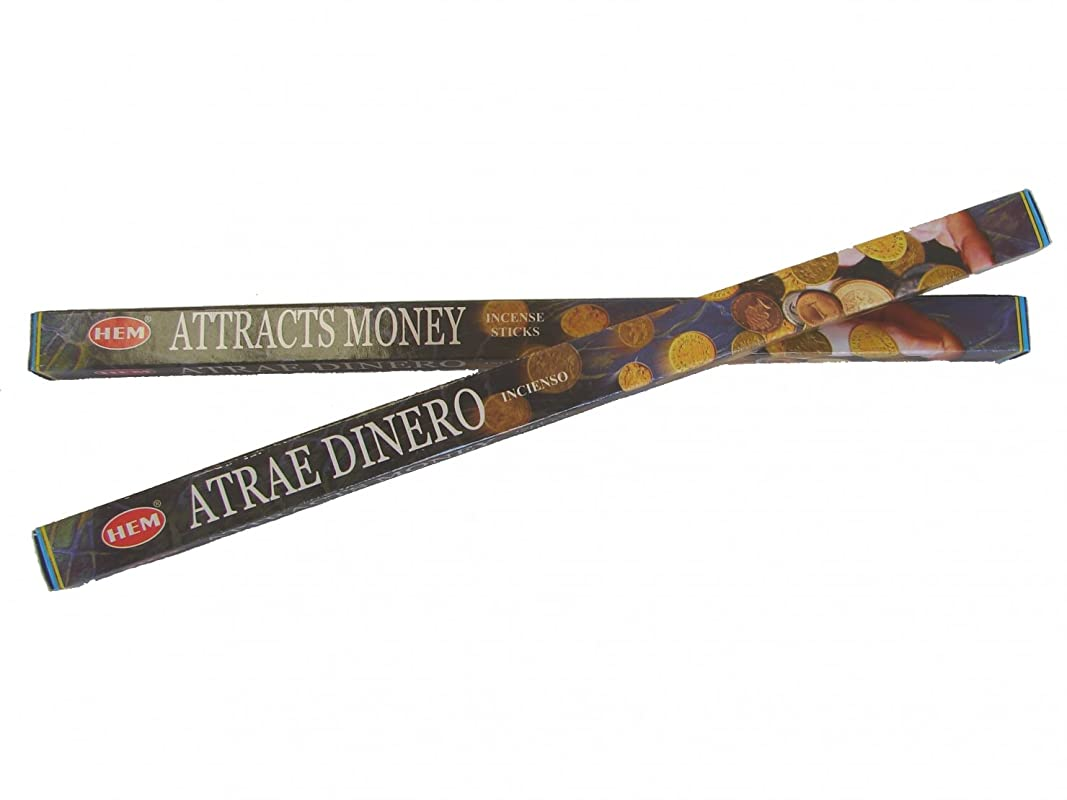 セント非行元気な4 Boxes of Attracts Money Incense Sticks