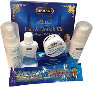 Hajj Kit Exclusive Collection Pack in Blue Pouch