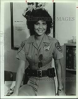 Vintage Photos 1982 Press Photo Tina Gayle Stars on Chips, Television Series. - sap12753