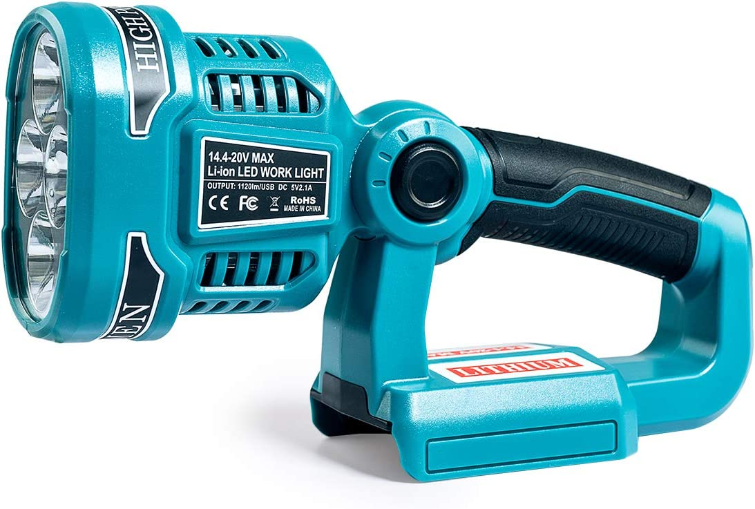 Wokyy 1120LM Cordless Discount is also Popular standard underway LED Work Light 18V LXT by L Makita Powered