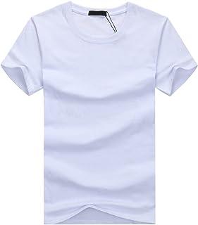 ONE LIMITATION(ワン リミテーション) 半袖 無地 Tシャツ カジュアル Uネック 丸首 デザイン メンズ STH004