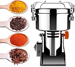 Rbaysale Electric Grain Grinder, Ultra-fine Mill Powder Machine Swing Type Dry Cereals Grain Mixer Mill for Herb Grinding Grain Pulverizer (1500g)