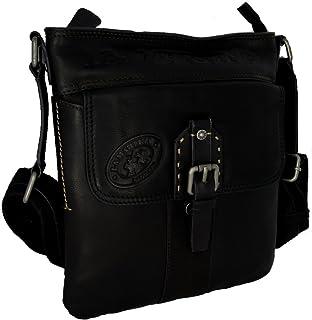 84ee942467 La Martina Borsa Borsello Tracolla Uomo Donna Marrone Scuro Bag Meduim Body  Bag Roble Hombre Leather