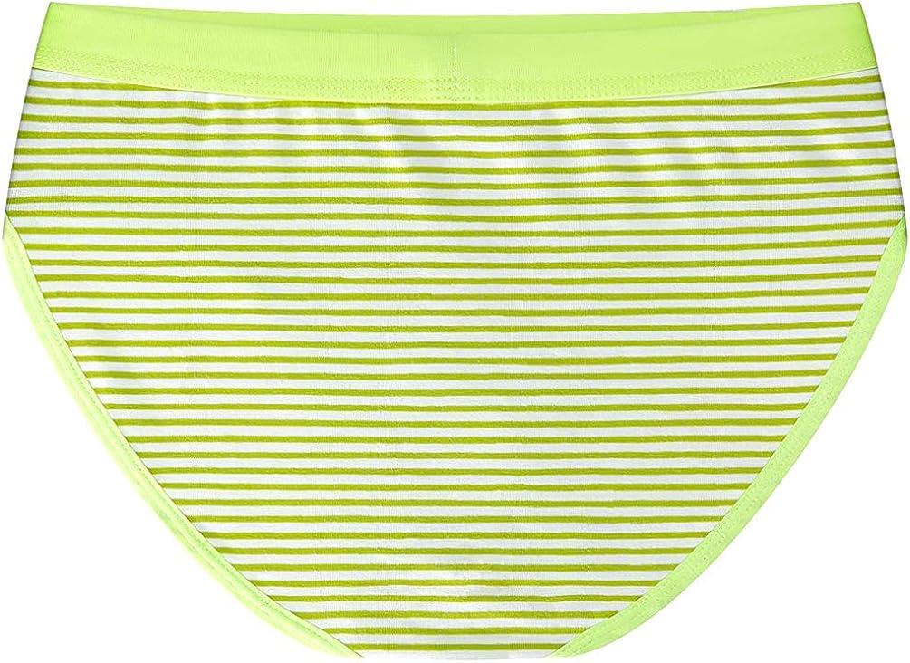 Vividda Pack of 2 Boys Fashion Brief Kids Striped Breathable Boxer Underwear