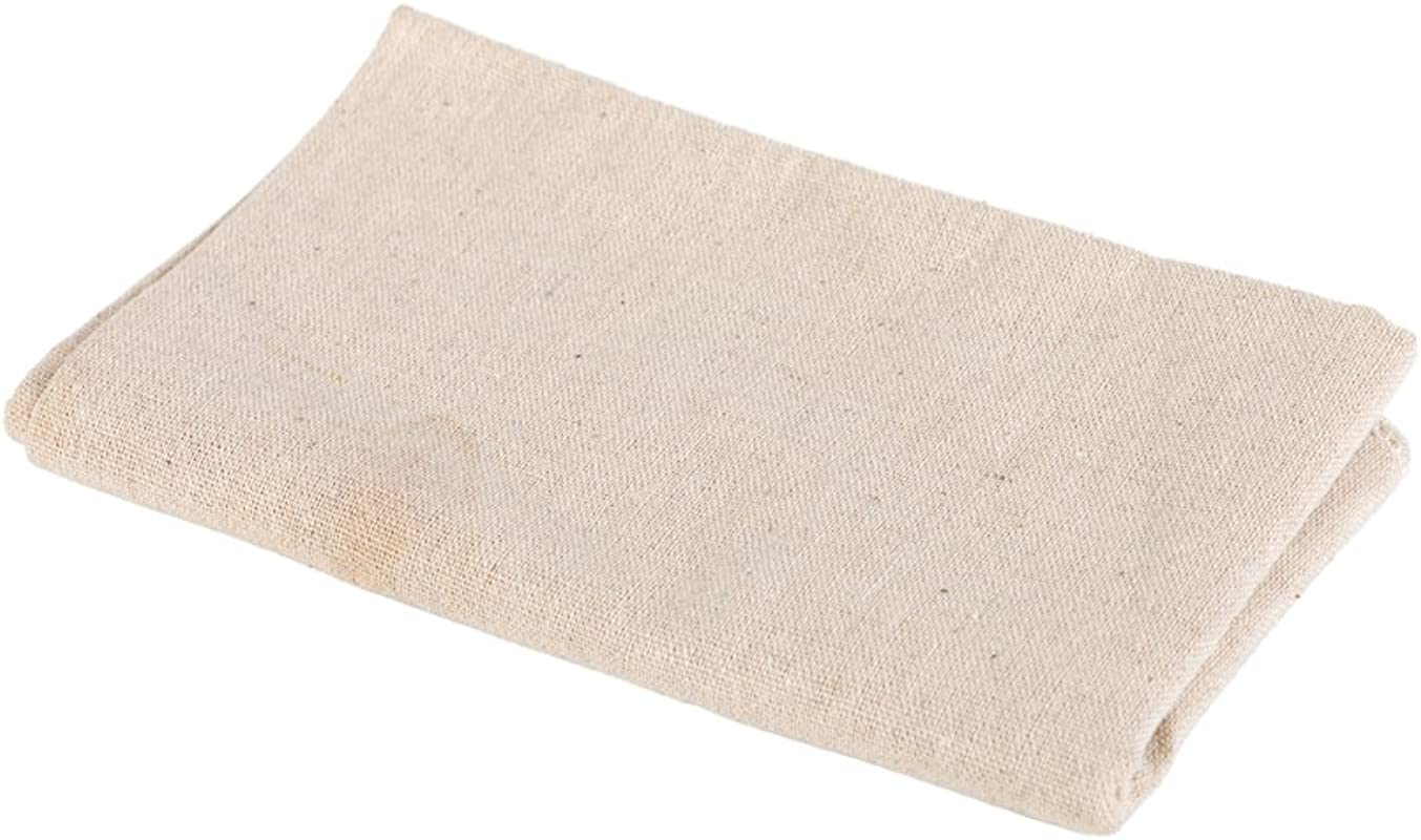 BakeWarePlus Bakers Dough Couche Proofing Flax Cloth 18 X 30 Inch For Baking French Bread Baguettes Loafs