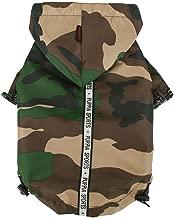Puppia Authentic Base Jumper Raincoat, XX-Large, Camo