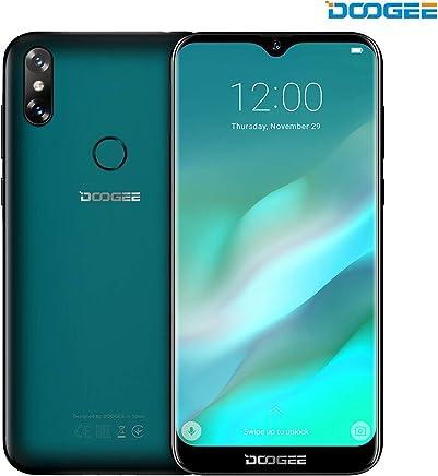 Móviles y Smartphones Libres, DOOGEE Y8 4G Teléfono Móvil Libre y sin Bloqueo de SIM 6.1 Pantalla 19:9 HD - Procesador DualCore MT6739-3GB RAM + 16GB ROM - 8.0MP+5.0MP - 3400mAh - Verde