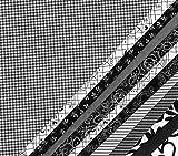 Die Stofftante Stoffpaket Black & White Westfalenstoffe