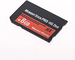 HuaDaWei 8GB Memory Stick Pro Duo Card Storage for Sony PSP 1000/2000/3000 Game Console MS8GB