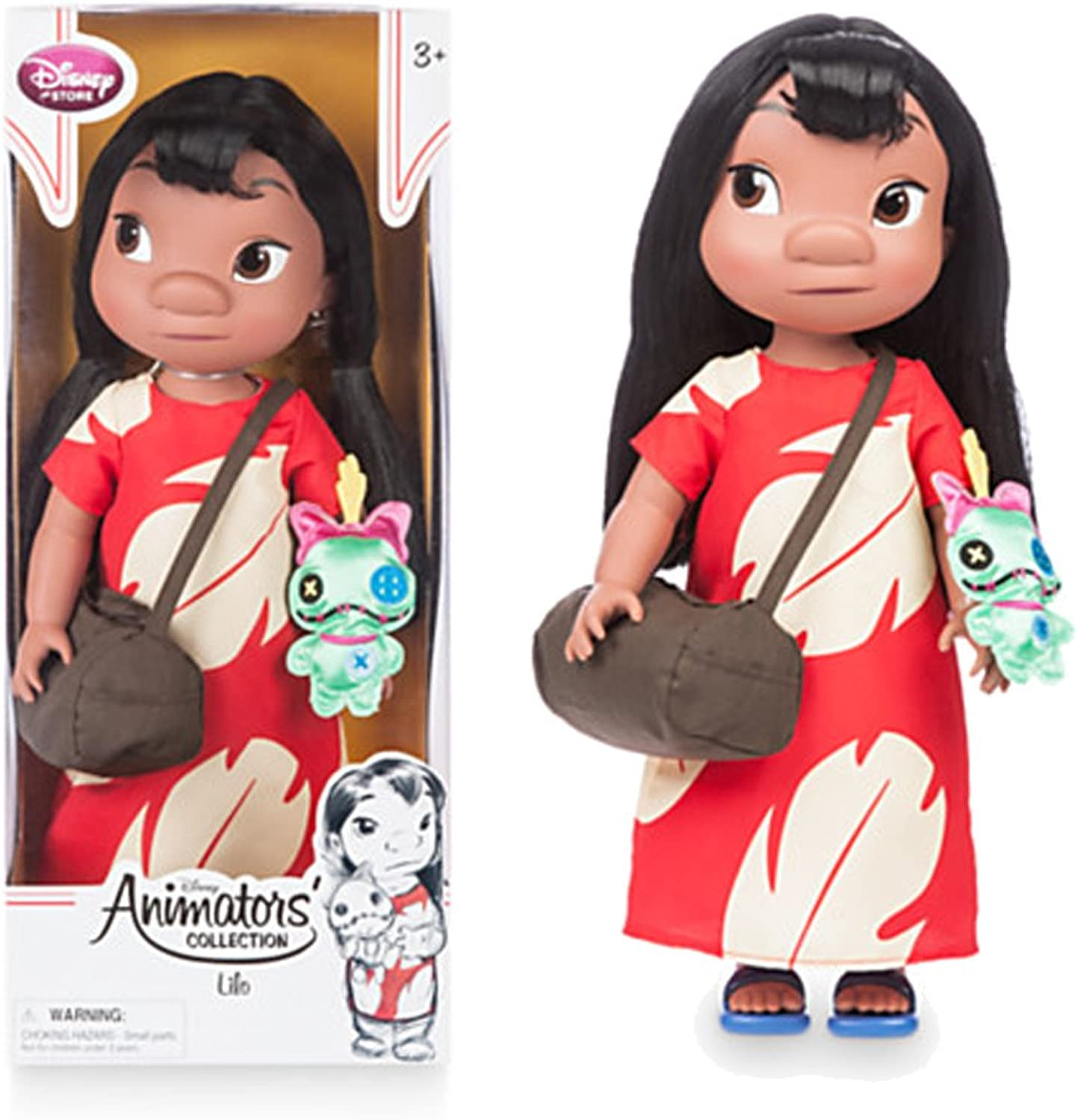 Disney Animators' Collection Lilo Doll - Lilo and Stitch - 16'' - New by Disney
