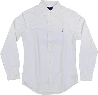 Men/'s Merona Button Up Polo White A91